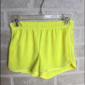 Girls size 7 neon mesh Justice shirts